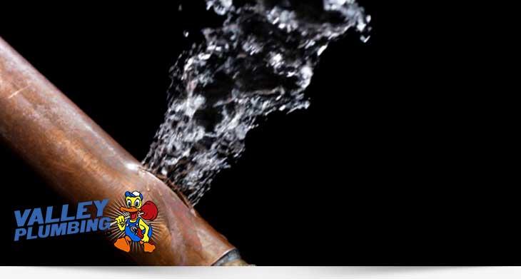 Burst Pipe Repair Salt Lake City Valley Plumbing Amp Drain