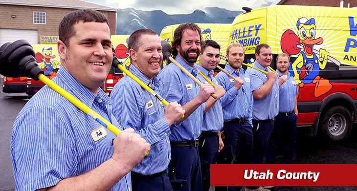 valley plumbing and drain cleaning services in utah county